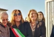 """L'assessore Grieco inaugura la nuova scuola di Donoratico: """"Tutto il territorio si è mobilitato"""""""