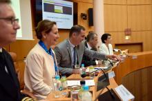 Ségolène Royal, visite ministérielle en Corse : l'intervention de la Ministre de l'environnement, de l'énergie et de la mer