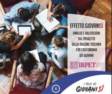 """""""Effetto Giovanisì"""": lunedì 3 aprile il presidente Rossi presenta la nuova ricerca Irpet"""