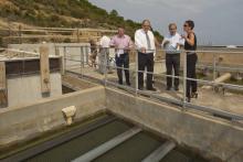 Travaux de modernisation de la station d'eau potable de Calvi