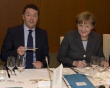 Renzi e Merkel al bivio tra unita' e disgregazione