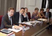 Signature d'un protocole entre la Collectivité territoriale de Corse, l'Etat et le SYDAVEC sur la gestion des déchets le 24 août à la CTC