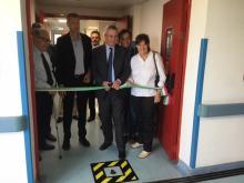 Stefania Saccardi ha visitato l'Ospedale del Cuore e il carcere di Massa