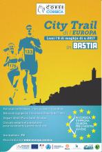 City trail di l'Europa - 8 mai à Bastia