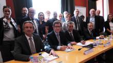 Signature de la charte du Service public territorial de l'orientation : Corsica Orientazione