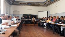 Réunion du Comité de bassin de Corse mercredi dernier à Corti