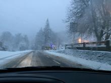 Début de la période hivernale : la CTC vous informe de la situation des routes territoriales - Soyez prudents