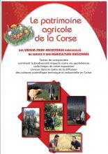 Exposition sur le patrimoine agricole de la Corse, « Des savoir-faire ancestraux renouvelés au service d'une agriculture raisonnée » du 29 septembre au 10 octobre 2016 à la CTC