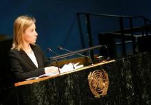 Immigrazione: Mogherini, lotta trafficanti priorita' Onu