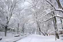 Codice arancione per neve giovedì 1 marzo sulla Toscana centro-settentrionale