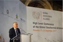 Prima Conferenza di alto livello dell'Alleanza Globale per la Geotermia