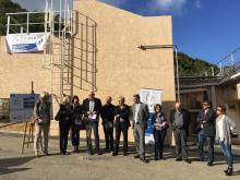 Inauguration de la station de traitement d'eau potable de Calvi vendredi 4 novembre 2016