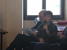Josepha Giacometti, Conseillère exécutive de Corse, déléguée à l'éducation, à la formation, à l'enseignement supérieur et à la recherche a présenté aujourd'hui « les Trophées scientifiques de Corse 2017 »