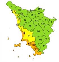 Maltempo, confermato codice arancione per temporali su Arcipelago e costa sud