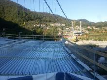 """Rossi a Stadano: """"Questi ponti sono simbolo di rinascita"""""""