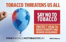 Giornata senza tabacco, le iniziative della Ausl ToscanaCentro