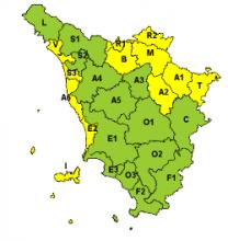 Maltempo, codice giallo per neve nel nord est della regione